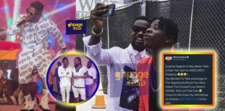 Insecure Shatta knew we were there to support but he refused-Stonebwoy
