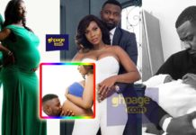 John Dumelo's wife splashes the internet with stunning baby bump photos