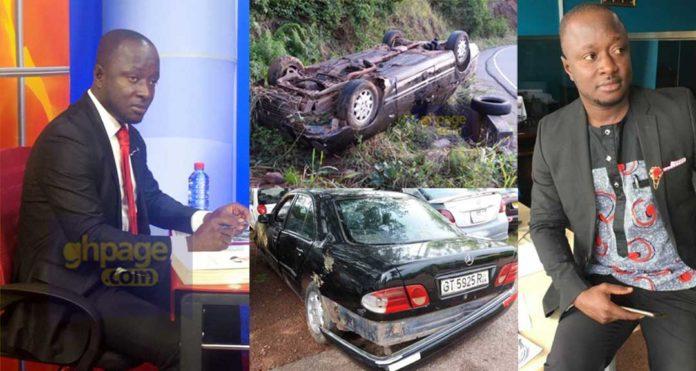 Popular Radio presenter involved in a near death accident