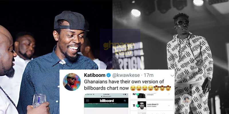 Shatta Wale's Billboard Chart record is fake – Kwaw Kese