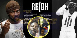 "The ""Reign"" album is not wack- Shatta Wale"