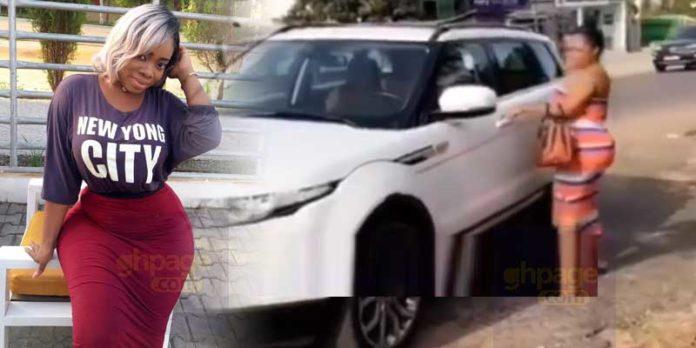 Moesha Boduong buys a new Range Rover