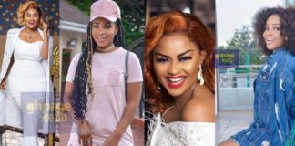 Video: Benedicta Gafah kneels down to beg Nana Ama Mcbrown in public - This was her 'crime'