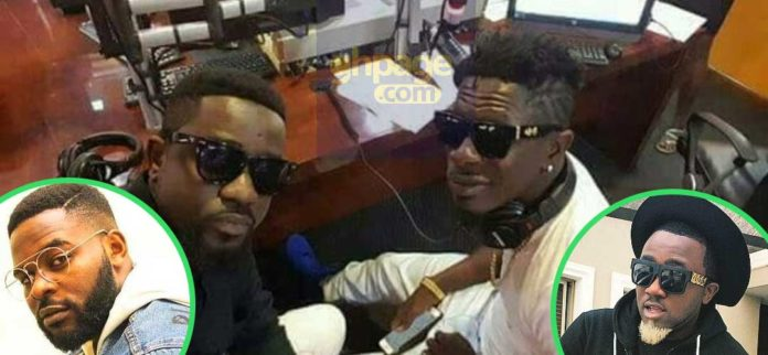 Nigerian celebrities reacts to Sarkodie's diss song to Shatta Wale