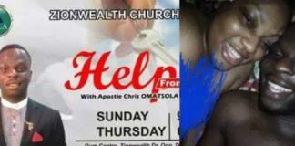 """Pastor Chris Omatsola """"Atopa"""" tape leaks on social media"""
