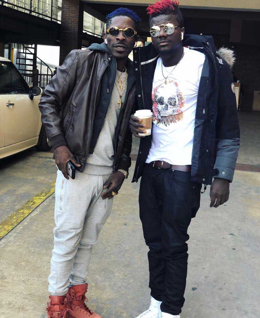 Pope Skinny and Shatta Wale - Pope Skinny blows cover of the married woman who gave Shatta Wale BJ