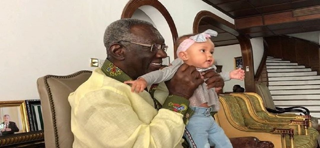 Yvonne Nelson's daughter celebrates 1st birthday with Kufuor