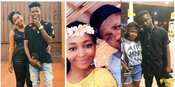 Sarkodie spotted hanging out with Strongman's girlfriend