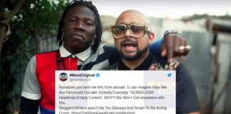 I've not removed Sean Paul from EOM album - Stonebwoy angrily reacts