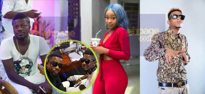 Shatta Wale's friends who commended Sarkodie for his diss song