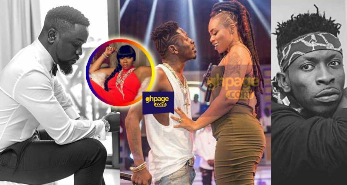 Shatta Michy breaks silence on Sarkodie's diss song to Shatta Wale