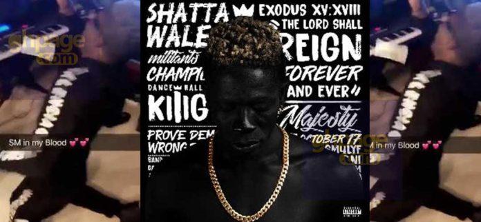 Shatta Wale boys spray dollars on him ahead of album launch