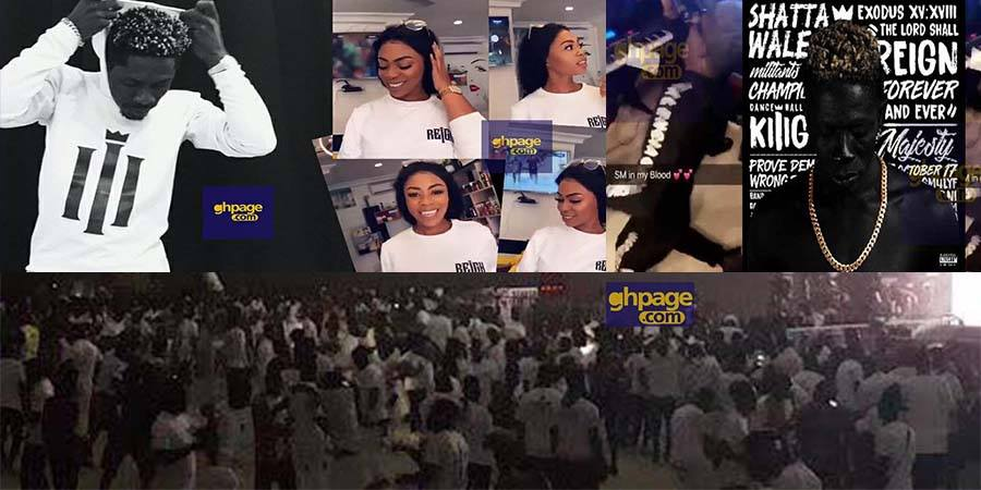 Image result for Shatta Wale's Reign album launch: The Fantasy Dome is already on fire