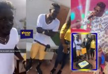 MTN stormed Shatta Wale's mansion to celebrate his birthday