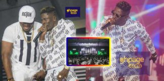 Shatta Wale speaks for the first time after a successful Reign Album launch [Photos]