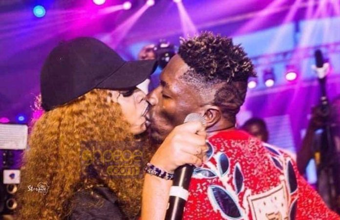 Shatta Wale and Michy on Reign Album stage 696x450 - Michy reacts to Shatta Wale's 'Corporate girl' comment