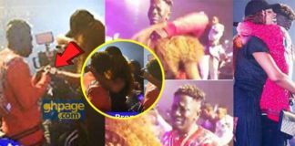 "Shatta Wale proposes to Shatta Michy at ""REIGN"" album launch"