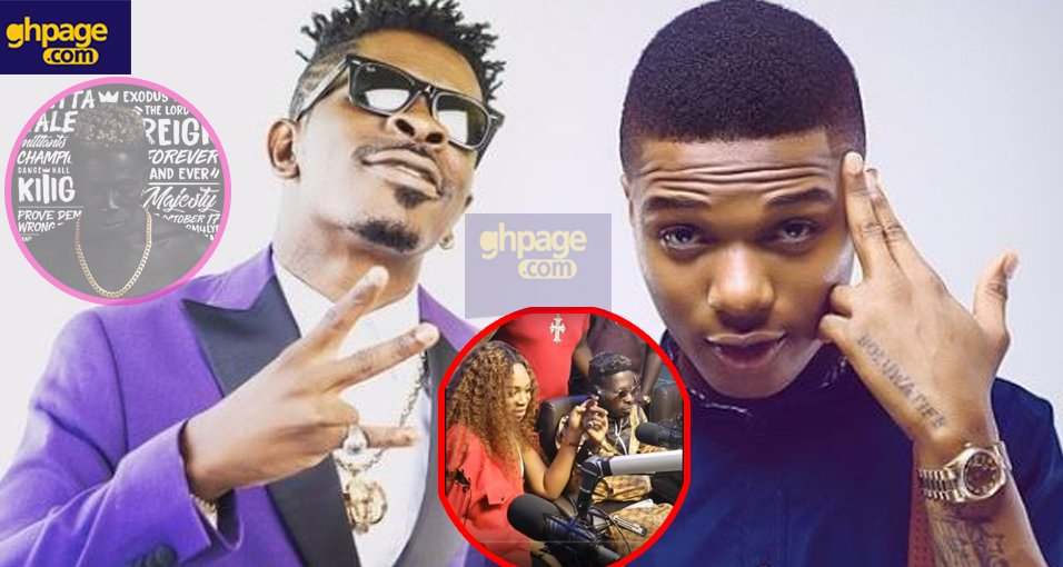 Wizkid wanted to feature on my Reign Album – Shatta Wale reveals