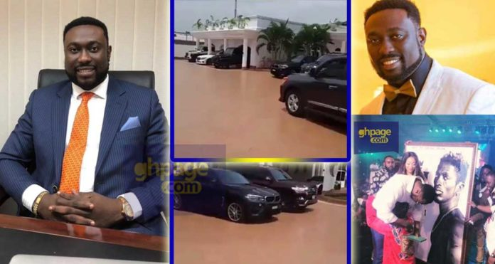 Cars & mansion of Sledge,Shatta fan who bought Reign album for ¢150K