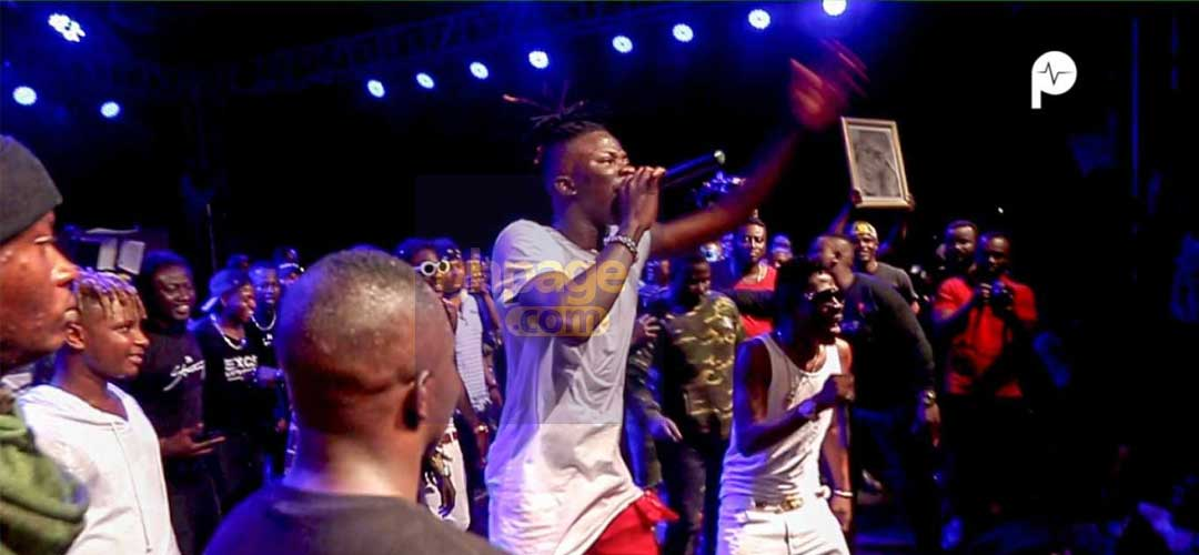 """I will also ask my fans"" – Stonebwoy talks about allowing Shatta Wale perform"
