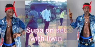Supa features in a new Kumawood movie with Lil Win and others