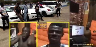 Angry Swedru Sakawa boys send strong warning to Kwaw Kese over his beef with Shatta Wale [Video]