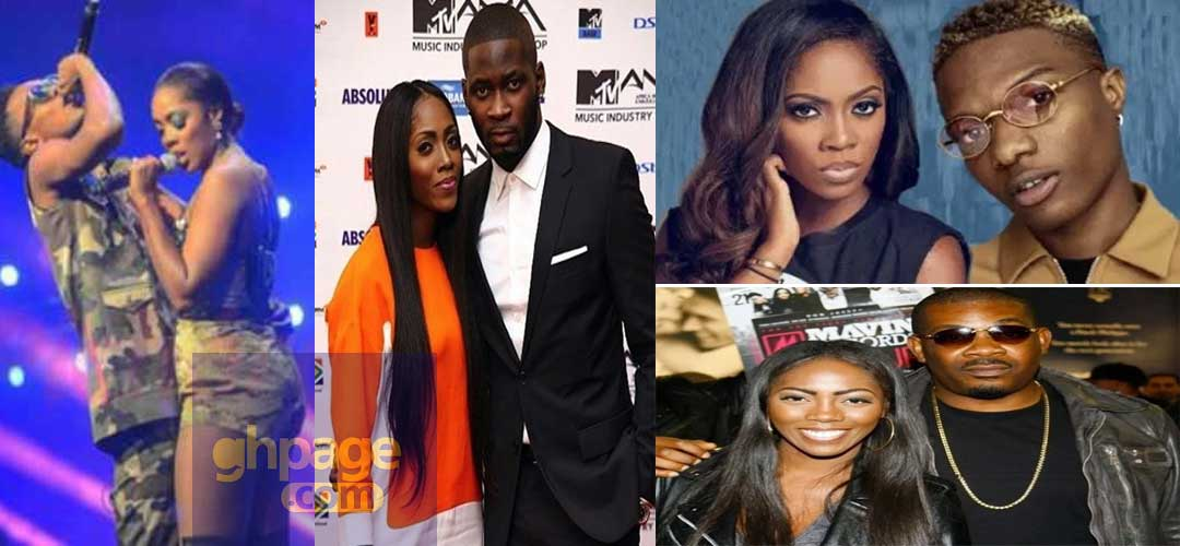 Men reported to have dated and slept with Tiwa Savage