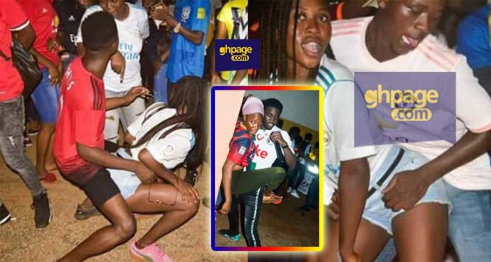 UDS SRC leaders sparks anger as they hold S£X Party to welcome first year students [+Photos]