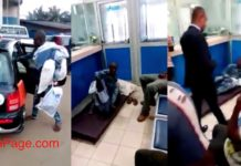 Accra:Man shock bankers as he stormed UniCredit with mattress to sleep