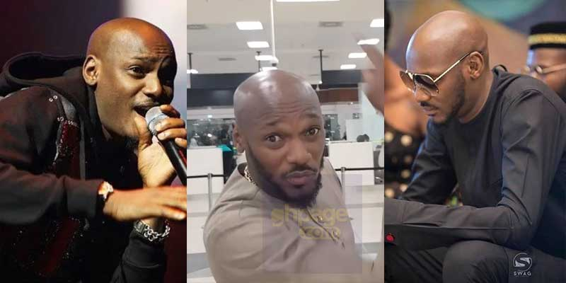2face shades Nigerian government after landing at the new Accra airport