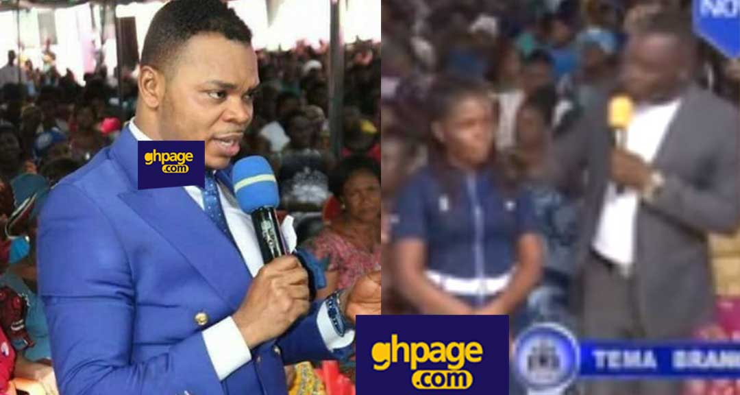 Angel Obinim removes human head from a woman's bloated stomach