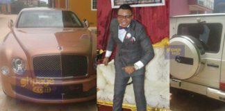 Angel Obinim launches brand new Rolls Royce Phantom and G-Wagon