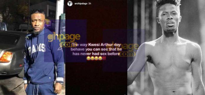 'Kwesi Arthur behaves as if he has never