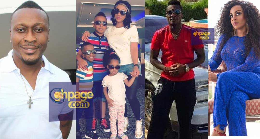 Asamoah Gyan's children ignored him when they met for the DNA test