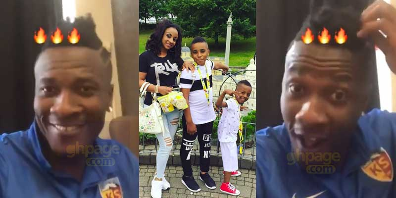 Asamoah Gyan breaks silence on divorce to wife on his birthday