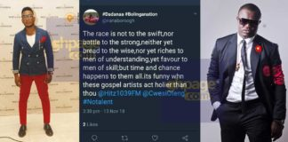 Nana Borro and Cwesi Oteng trade blows on social media