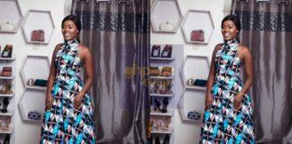 Fella Makafui shower praises on herself