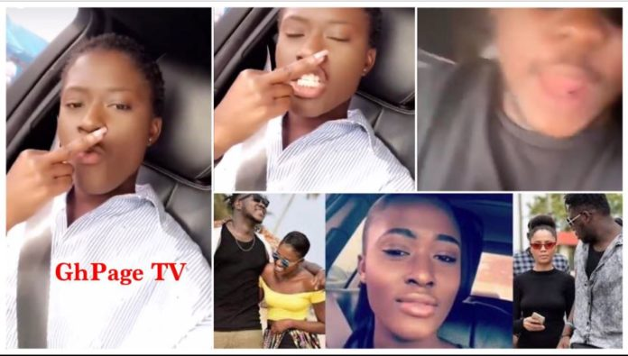 Fella Makafui & Medikal continue to react after video of her Ex-boyfriend seizing her cars went viral