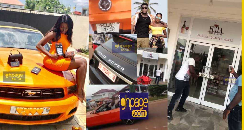 Fella Makafui angry ex-boyfriend takes away the car he bought for her