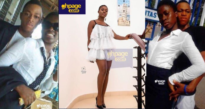 Throwback photos of Fella Makafui and 'school days boyfriend' pops up on social media