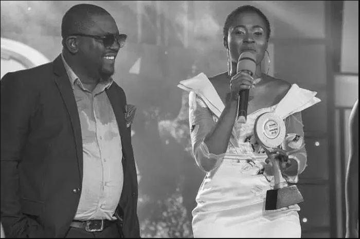 Fella Makafui wins Student's Favorite Actress of the year at Ghana Tertiary Awards