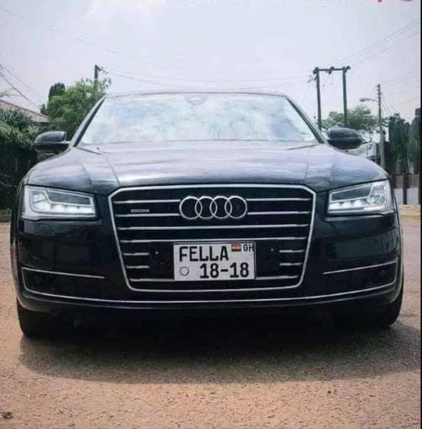 Medikal Allegedly Gave Fella Makafui An Already Used Audi