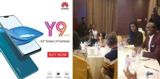 Huawei launches Huawei Y9 smartphone (2019 model) in Accra