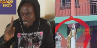 Lilwin accused of putting juju under a statue in his school; he reacts