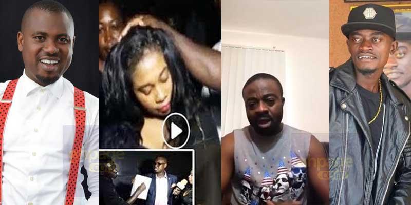 Ghanaians abroad blast Liwin and Abeiku Santana over blogger arrest