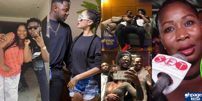 Medikal's mother confirms son's break up with Sister Deborah & relationship with Fella Makafui