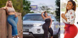 Moesha Boduong flaunts her newly acquired Range Rover