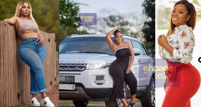 Moesha Boduong flaunts her newly acquired Range Rover