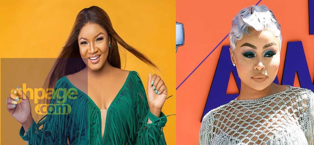 Omotola Jalade reveals that Blac Chyna's bleaching creams are for adults