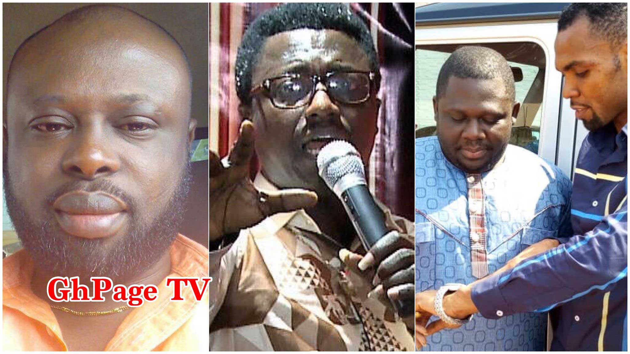 Opambour Ebenezer angrily reacts to Osofo Appiah set up claims